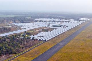 Solaranlagen auf dem Airport Weeze