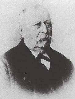 August Remmets (1818-1896), long-time Mayor of Weeze and Kervenheim (1874-1895), lived in the Old Senior Forest Warden's House. Portrait.