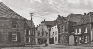 Marktplatz (market square), postcard-view, around 1910