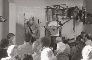Small arts events in the 'Alte Schmiede' (old smithy), 2011.
