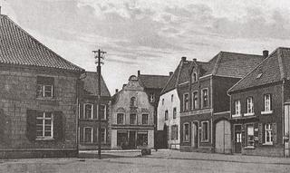 Marktplatz (market square), postcard-view, around 1910.